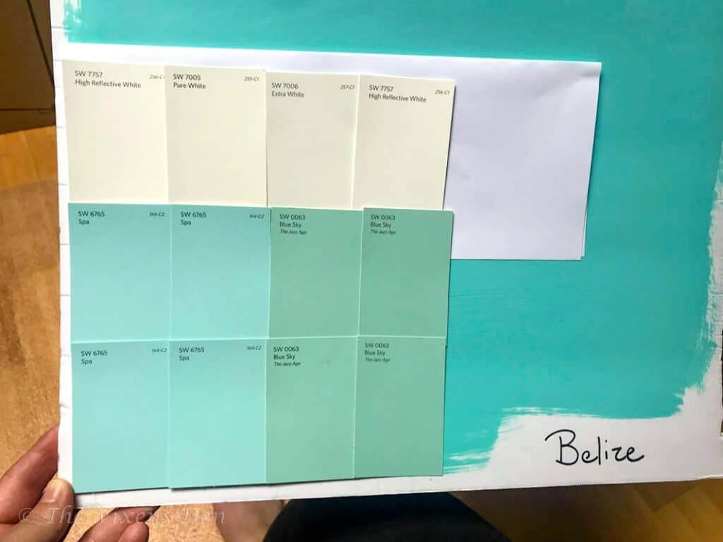 sherwin williams color board