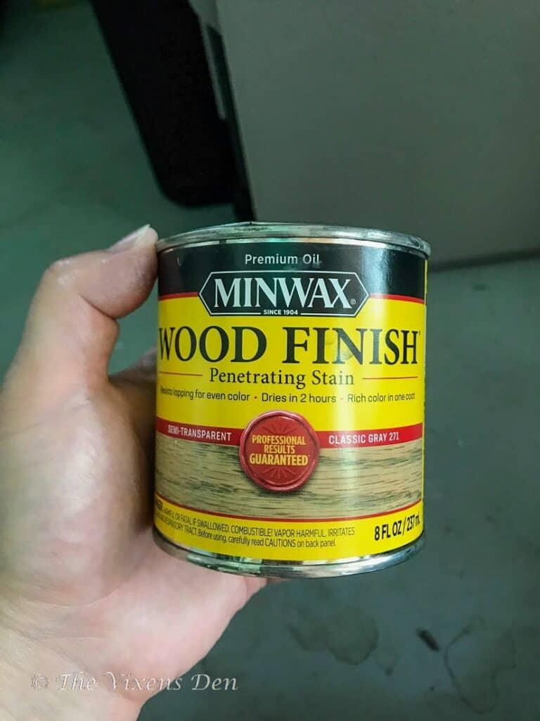 MinWax classic gray stain