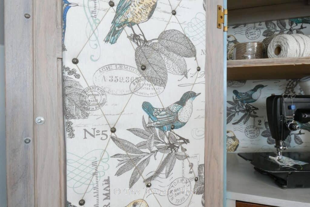 fabric covered corkboard